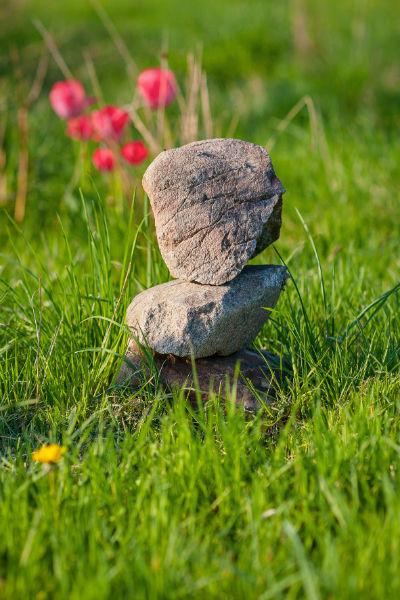 Telepathie mit Steinen
